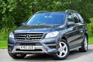 Used MERCEDES M-CLASS in Wiltshire for sale